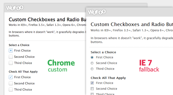 radio form html buttons