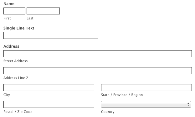 Customize Your Form With CSS Examples – Example of Leave Form