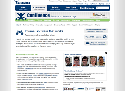 Confluence Screencast
