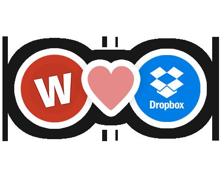 Wufoo adora Dropbox